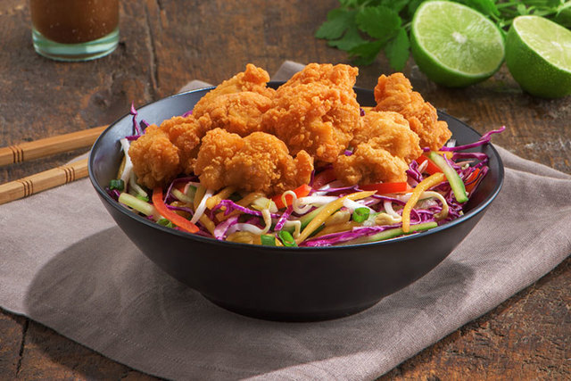 Asian Slaw with Karaage