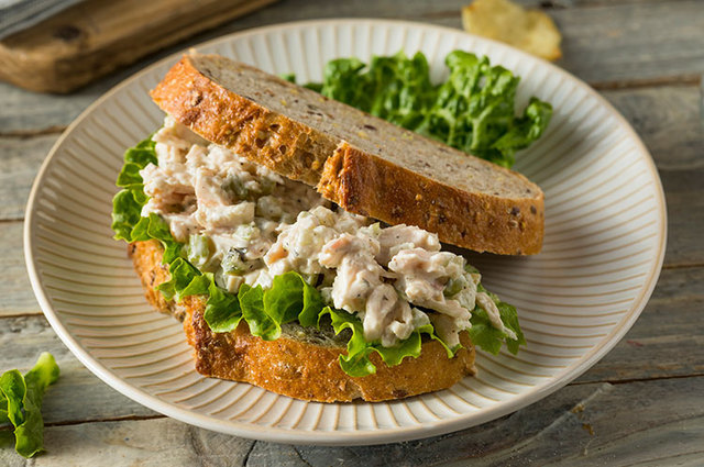 Dill'ish Chicken Salad Sandwich